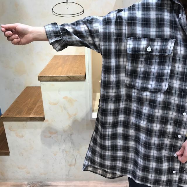 シャツ身幅・ポケット
