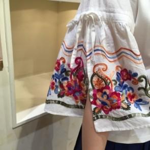 刺繍1袖アップ