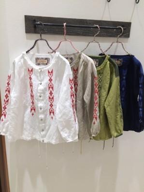ジーン刺繍