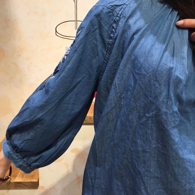 刺繍PO袖2