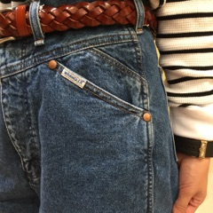 斜めカットポケット