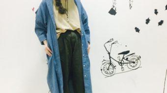 新作ニットでゆる〜く秋コーデ♡byまっちゃん