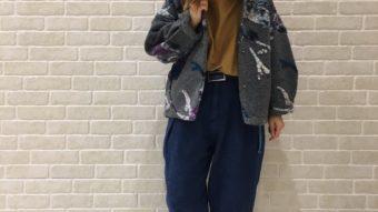 カトちゃんの『デニムパンツで秋スタイル』