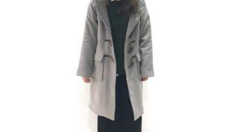 せっちゃん店長の《SUN VALLEY》のロングダッフルコートを今年っぽく♡