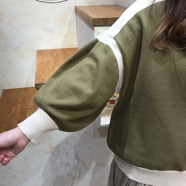 もちニット袖