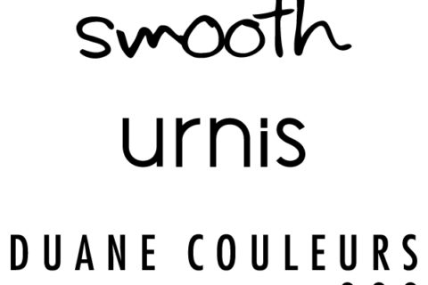 smooth・urnis・DUANE COULEURS