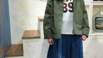 デニム×カジュアルコーデby岡ちゃん