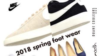 2018 spring foot wear