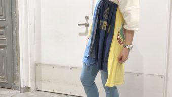 【Sunny Side up】 リメイクTeeスカート♡