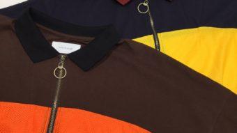 【rivet&surge】メッシュ切替のポロシャツ