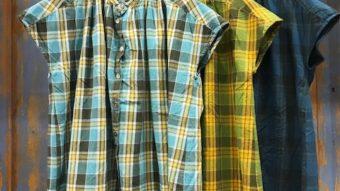 【SUN VALLEY】から人気のスタンドカラーのチェックシャツが入荷しました♬ by齋藤