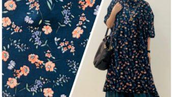 【Lupilien】の花柄ワンピコーデ&【JEAN NASSAUS】新作★★byまっちゃん
