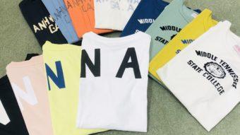 【CUBE  SUGAR】&【KAKELA】夏に大活躍!新作Tシャツ!