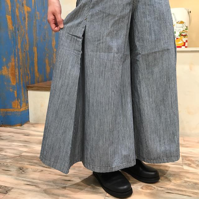 ストライプPT裾
