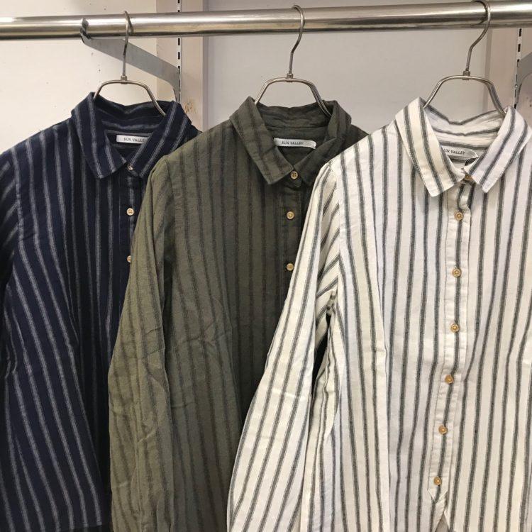 ストライプシャツ色