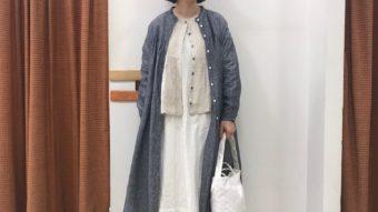ホワイト×ブルーのコーデ② byつじ