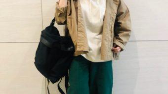 【Cafetty/カフェッティ】の新作パンツを使ったリラックスコーデ♪