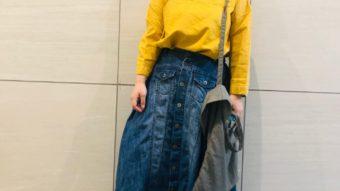 【NANEA/ナネア】スカートが主役!大人カジュアルコーデ♪