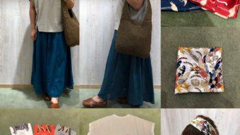【CUBE SUGAR】ドット柄スカートでナチュカジュコーデ♪