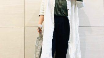 【tsukuroi/ツクロイ】のロングシャツで大人のリラックスコーデ♪
