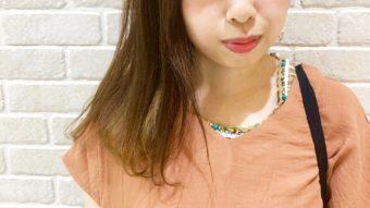 夏を楽しく!暖色×柄のテイスト別コーデby三浦
