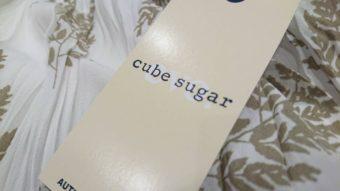 CUBE SUGAR新作入荷!