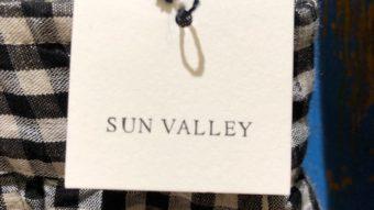 【SUN VALLEY】を使って色んな柄をアクセントに3コーデ★byまつおか