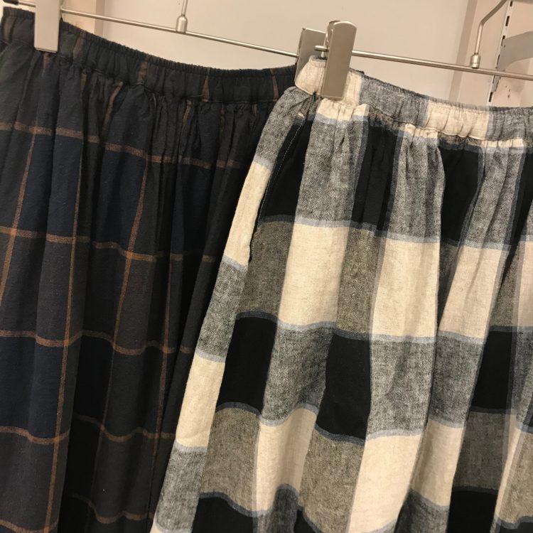 スカート色アップ