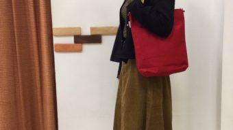 ショート&ロングの羽織り新作コーデ