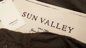 SUN VALLEYの新作更に入荷です!