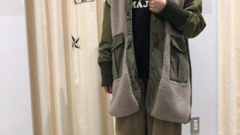【冬のあったかコーデ】ご紹介!by岡本