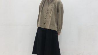 【小樽店】【SUN VALLEY】と【CUBE SUGAR】の新作おすすめボトムでシンプルシャツの着まわしコーデ★  ㅤㅤㅤㅤㅤㅤㅤㅤㅤㅤㅤㅤㅤ