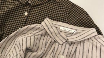 【 SUN VALLEY 】柄のシャツが入荷しました。
