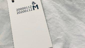 新ブランド【a.M(ァ.エム)】をご紹介☺by山田