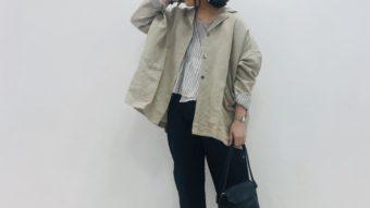 【tukuroi】の新作リネンで春のジャケットstyle★