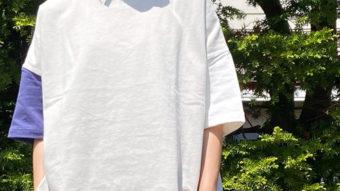 夏に重宝すること間違いなし【GENTIL/ジャンティ】Tシャツ