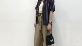 smooth小樽店 | LeeのストライプシャツでスポーツMIXコーデ