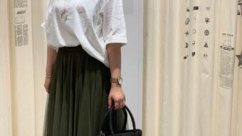 個性派スカートで目を惹くコーデにby山田