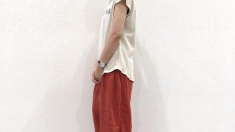 【CUBE SUGAR】新作Tシャツコーデ