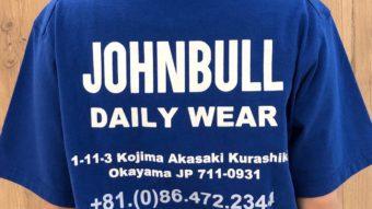 この夏欲しい!【Johnbull】Tシャツ