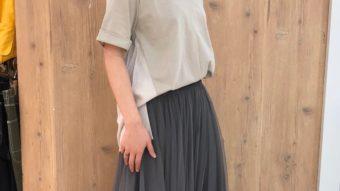 大人のギャザースカート