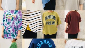 Tシャツ10選!!