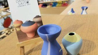 期間限定、斎藤ダイスケ様の陶器のご紹介です