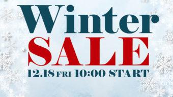 本日よりWINTER SALE開催!!