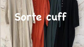 【Sorte cuff】新作入荷☆