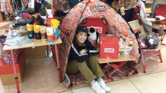CHUMS POP UPイベント開催中!