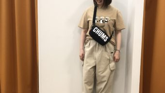 【CHUMS】New!Tシャツ!