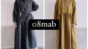 「08mab」新作入荷!