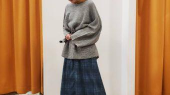【CUBE SUGAR】新作スカート柄別コーデ