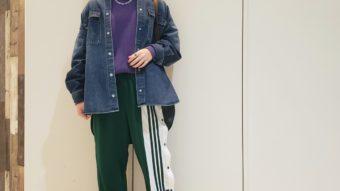 【adidas新作】スポーツMixコーデ